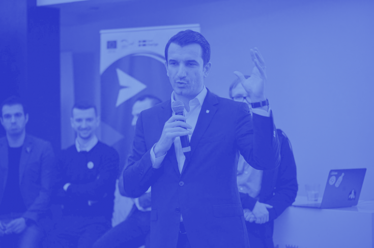 Launching event of the 1<sup>st</sup> Tirana Hackathon