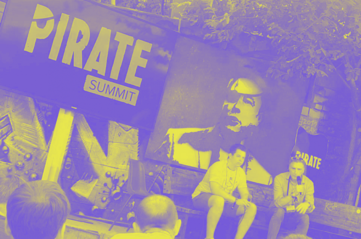 EU for Innovation participating in Pirate Summit