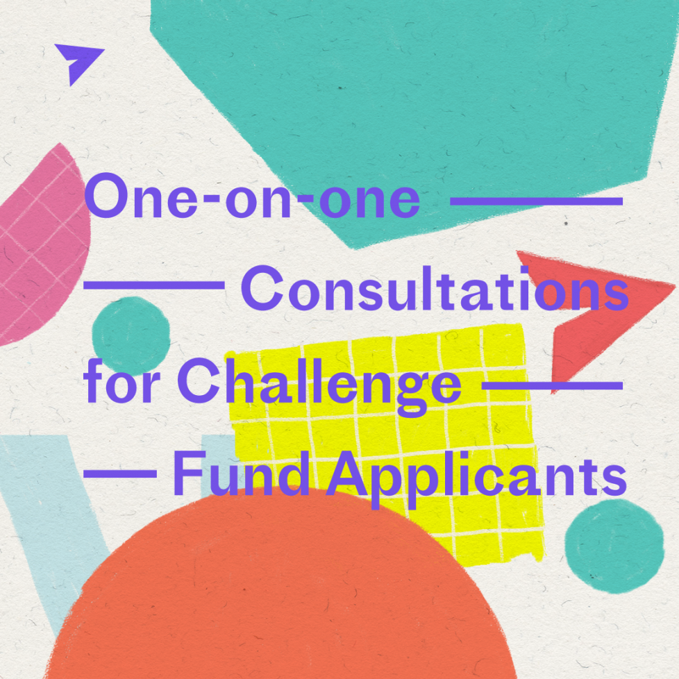 One-on-one Consultations for Challenge Fund Applicants