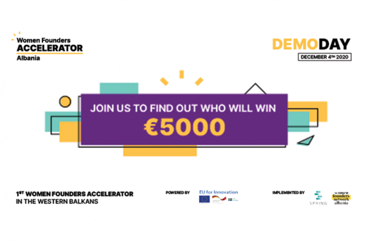 Women Founders Network Albania: Demo Day Pitch Competition
