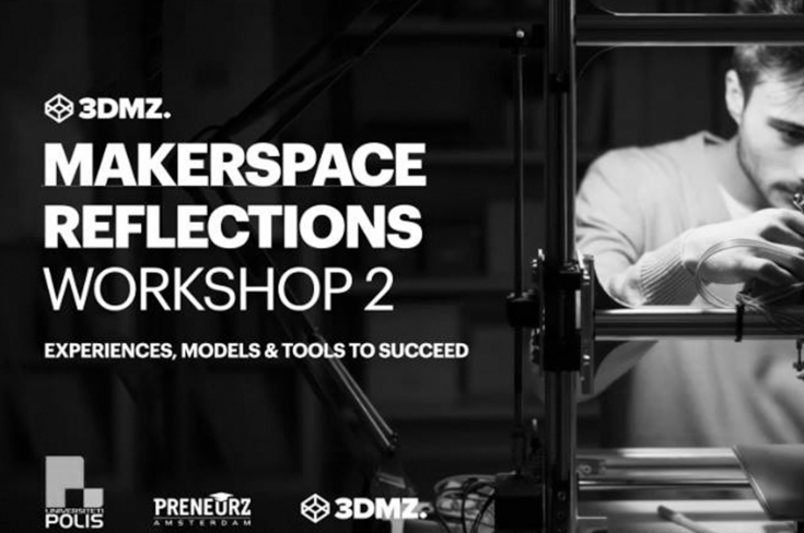 """Online workshop """"MAKERSPACE REFLECTIONS: Experiences, Models and Tools to Succeed"""""""