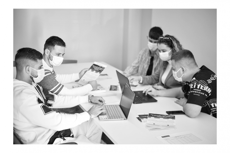 Connect IT student team develops a solution for LeBon Tirana