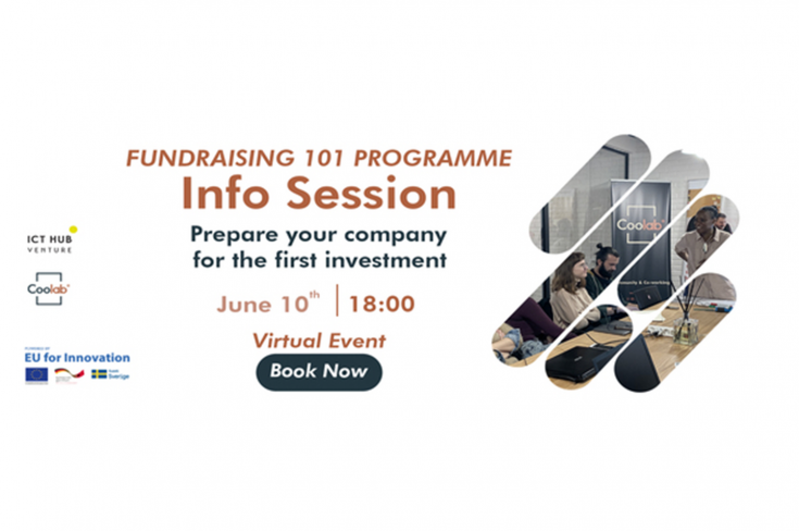 INFO-SESSION: Fundraising 101 Programme – How to prepare your company for its First Investment