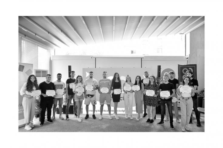 Graduation Ceremony, Connect IT student-teams