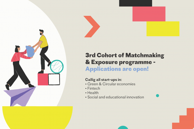 Call for Applications: 3rd Cohort of the Matchmaking and Exposure Programme